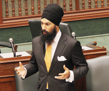 Jagmeet Singh and Ontario ACORN working towards Remittance Justice.