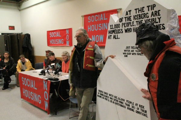 Action for affordable housing in BC.