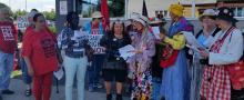 Ottawa ACORN and the Raging Grannies