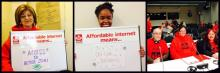 ACORN Canada Internet for All campaign