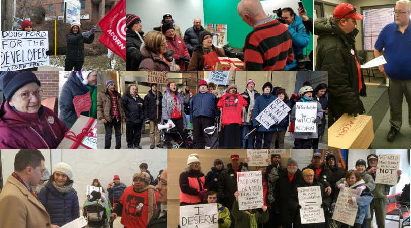 Ontario ACORN housing action