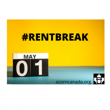 Join us to demand RENT BREAK NOW