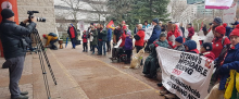 Ottawa ACORN Housing rally