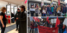 Members rally to SAVE ODSP
