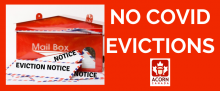 ACORN Members Demand NO COVID Evictions as Evictions Begin on August 1st