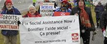 Ottawa ACORN ODSP OW Social Assistance